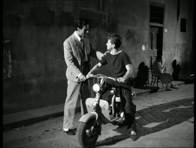 1954 Lambretta 125 D in Le ragazze di San Frediano, Movie, 1955