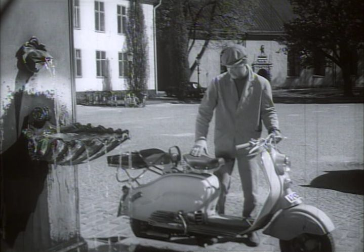 Lambretta LD in Klarar Bananen Biffen, Movie, 1957